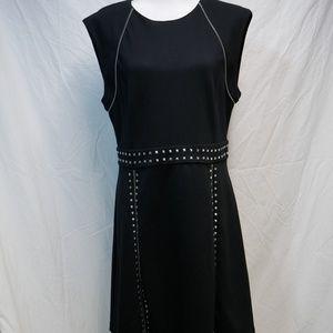 MICHAEL Michael Kors Black Studded Dress